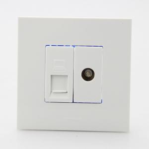 西门子 电视电脑插座 点晶系列